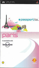 PASSPORT TO PARIS for PSP - with box and manual