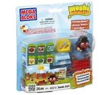 MEGA BLOKS Moshi Monsters 80619 26 piezas Semillas Carreta Incluye Diavlo