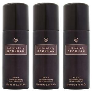 David Beckham Intimately Deodorant Spray 150ml x 3