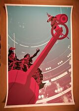 Frank Stockton Luke's Destiny - Vintage Mondo Star Wars Poster - Rare