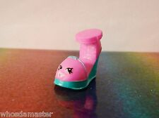 Shopkins Fashion Spree Series #25 WILMA WEDGE Pink Exclusive Mint