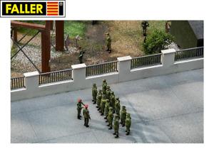 Faller Military H0 144120 Kasernenzaun - NEU + OVP