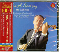 HENRYK SZERYNG-HANRYK SZHERYNG IN RECITAL-JAPAN CD B63