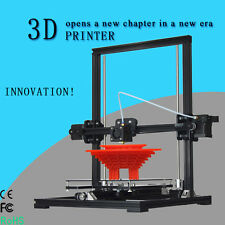 Tronxy 3D Printer X3 Aluminium Structure Auto Level LCD Screen Self-assembly US