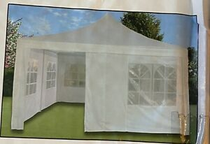 Pavillion Dach Bespannung und 4 Seitenteile 4x4m