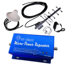 850MHz CDMA Cell Phone Signal Repeater Booster Amplifier + Yagi Antenna Kit