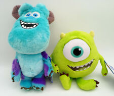 Disney Store Monster Inc Sulley Blue Mike Plush toy doll new