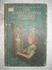 NANCY DREW THE SCARLET SLIPPER MYSTERY RARE BOOK 1974