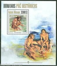 Guinea Bissau 2013 Prehistoric Humans Cavemen Souvenir Sheet Mint Nh