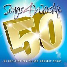 Songs 4 Worship: 50 Greatest Praise and Worship Songs [Digipak] - Various (3CD)