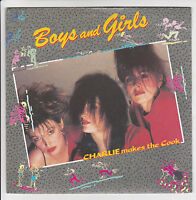 """CHARLIE MAKES THE COOK Vinyle 45T SP 7"""" BOYS AND GIRLS  - TOUCH OF GOLD 888761"""