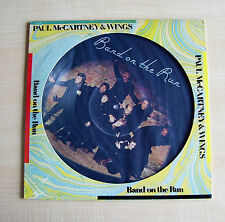 "PAUL McCARTNEY & WINGS ~ BAND ON THE RUN~ 12"" LIMITED PICTURE EDITION SEAX 11901"