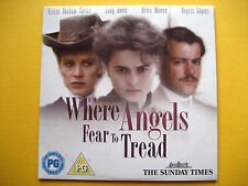 WHERE ANGELS FEAR TO TREAD, A THE SUNDAY TIMES NEWSPAPER PROMOTION (1 DVD)