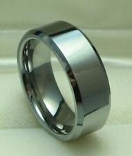 Men 8mm Tungsten Carbide comfort fit ring size 10.5 Wedding!