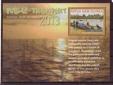 Papua New Guinea 2013 Transports en Commun Feuillet non Montés Excellent État