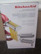KitchenAid Stand Mixer Attachment Pasta Roller & Cutter 3pc KSMPRA
