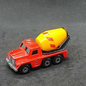 Matchbox Superfast Cement Truck #19 Vintage Die-Cast Vehicle Lesney 1976