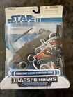 Hasbro Star Wars Clone Wars Transformers Crossovers Turbo Tank To Clone... For Sale
