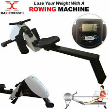 Cardio Magnetic Rowing Machine Body Toner Home Gym Fitness Workout Folding Rower