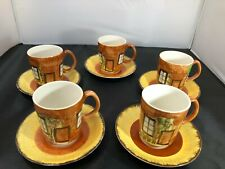 5 Price Kensington Cottage ware cups and saucers 03-20 #BEB