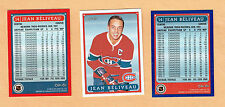 1993 OPC Fanfest Canadiens' Jean Beliveau Card & Promo