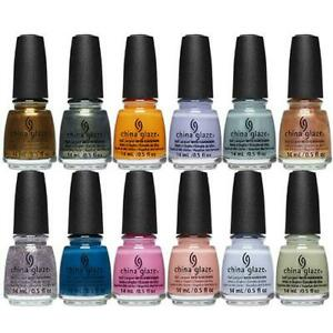 China Glaze Nail Polish Lacquer - Discontinued Hot Colors - Rare to find