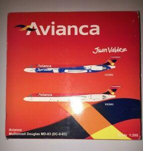 JC Wings Avianca McDonnell Douglas MD-83 Model - 1/200 - XX2903 - EI-CER