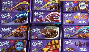 GENUINE MILKA 100G Bars Mix Flavours Oreo Daim White Chocolate Caramel Hazelnut