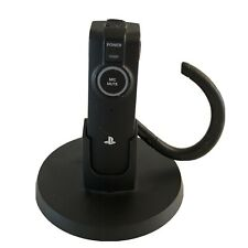Sony PlayStation 3 (PS3) Wireless Bluetooth Headset - with cradle (not tested)