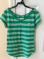 Women's Hollister StripedTop/ T-Shirt Size Extra Small Cute!