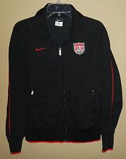 EUC WOMENS L LG NIKE N98 US USA SOCCER NATIONAL TEAM TRACK TOP JACKET OLYMPICS