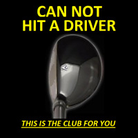 #1 DRIVING 13° i-Driver Hybrid Iron Wood Rescue Golf Club New
