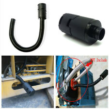 25mm Air intake Filter Silencer Combustion Air Pipe &Clamps Set for Car Heater
