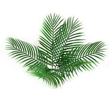 Fake Plastic Leaves Artificial Green Plants For Party Display Flower Arrangement