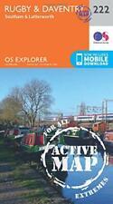 OS Explorer Mappa Active (222) Rugby E Daventry, Southam E Lutterworth (OS Exp