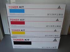 4X TONER CARTRIDGES COMPATIBLES OKI C510DN C511DN C530DN MC561 562DN HI CAPACITY