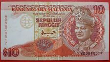 7th Series Malaysia A. Don RM10 Banknote ( WD5870517 ) - AUNC