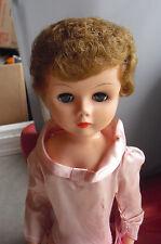 "Big Vintage 1950s Arrow Logo 23 Blonde Hair Bridesmaid Girl Doll 24"" Tall"