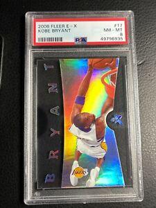 🔥 2006 Fleer E-X Kobe Bryant #17 PSA 8