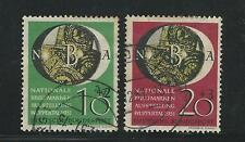 Germany: 1951; B318-B319, philatelic exposition wuppertal, used. GE282
