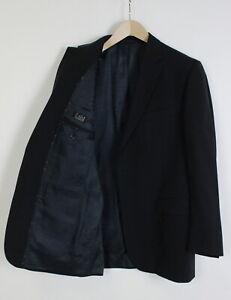 PAL ZILERI LAB Men's (IT) 50 or ~MEDIUM 100% Wool Navy Formal Blazer 35667-GS