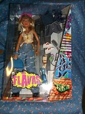 NIB Flavas Tika Doll Hip-Hop Accessories Decorate Fashions with Art Decals