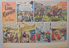 Lone Ranger Sunday Page by Fran Striker and Charles Flanders from 2/18/1940