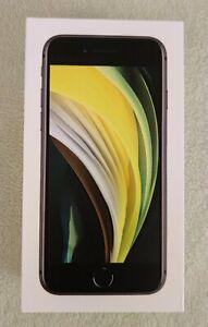 Boîte IPhone SE 2020 Noir 2nd Génération 64 GB - Boite Vide Version FR