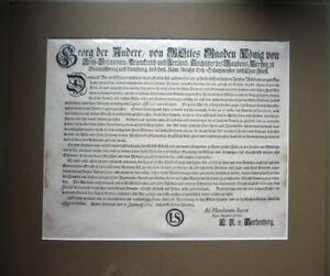 Einblattdruck von 1731                                                (Art.4122)