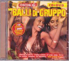 CD ♫ Audio + Dvd video «CORSO DI BALLI DI GRUPPO» nuovo sigillato