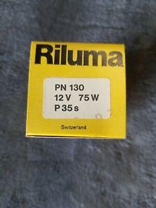 RILUMA PN130 75W 12V P 35s Projection Lamp
