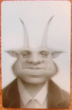 Travis Louie Krampus Mug Shot art print lowbrow weird lowbrow
