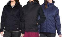 NEW UNDER ARMOUR SIENNA JACKET Women's 3-in-1 Coldgear Infrared Black/Grey/Blue
