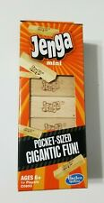 Hasbro JENGA Mini Pocket Sized Wood Blocks Stacking Game NIB